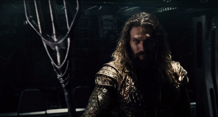 Justice League - Jason Momoa as Aquaman