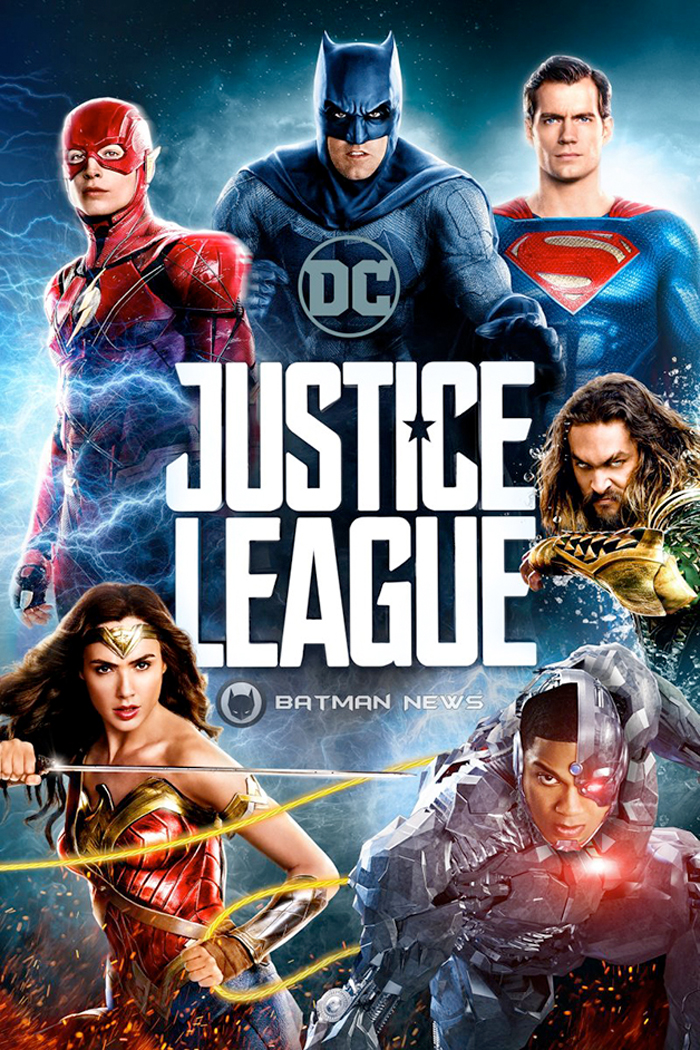 Justice League Digital Cover