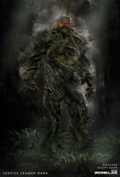 Justice League Dark Concept Art - Swamp Thing