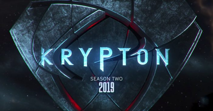 Krypton Renewed for series 2