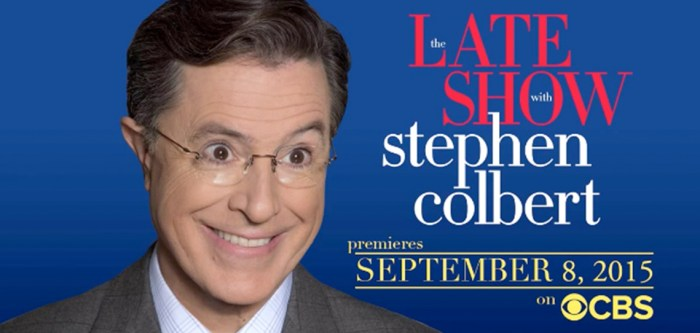 Late Show with Stephen Colbert first guests