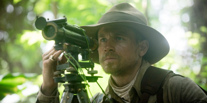 The Lost City of Z Release Date - Charlie Hunnam