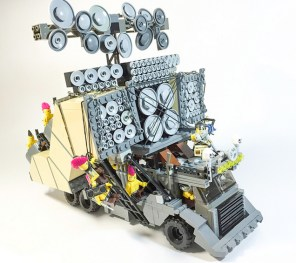 LEGO Mad Max: Fury Road Vehicles