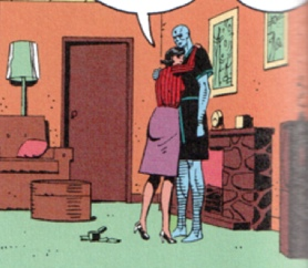 Dr. Manhattan's Apartment from Comic