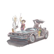 Mark Chilcott Ride On - Back to the Future