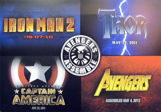 marvel logos