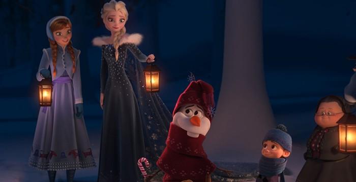 olaf's frozen adventure abc