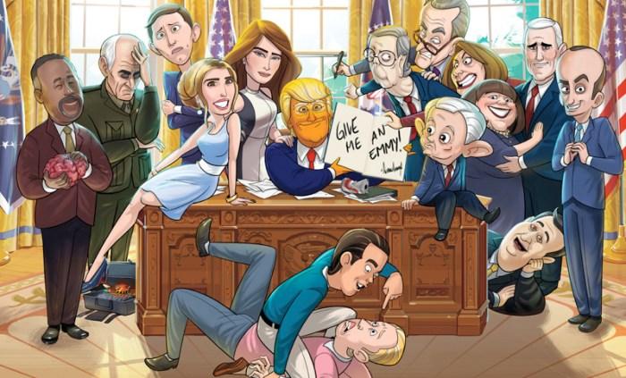 Watch Our Cartoon President