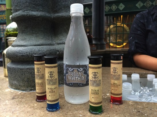 Gilly Water potions