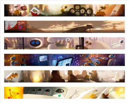 Gallery Nucleus - Pixar Animation - WALL-E