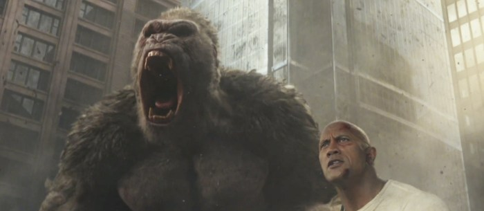 Rampage Trailer - Dwayne Johnson