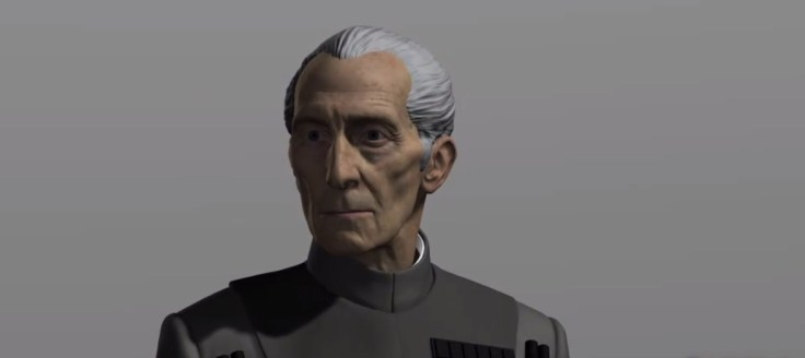 Rogue One - Grand Moff Tarkin - Visual Effects