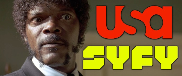 Swearing on SyFy and USA
