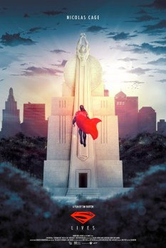 Superman Lives Poster