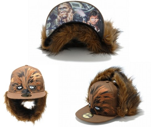 New Era Japan's 59Fifty fitted Star Wars Caps - Chewbacca