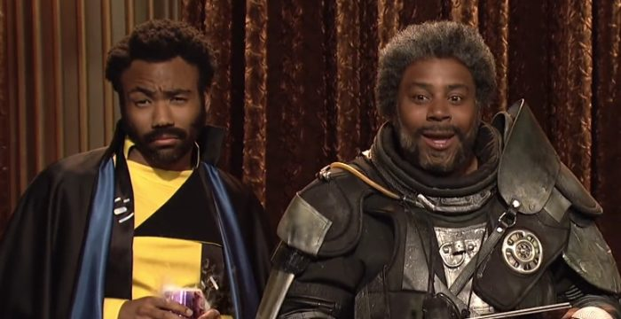 Saturday Night Live Lando Calrissian Sketch- Kenan Thompson and Donald Glover