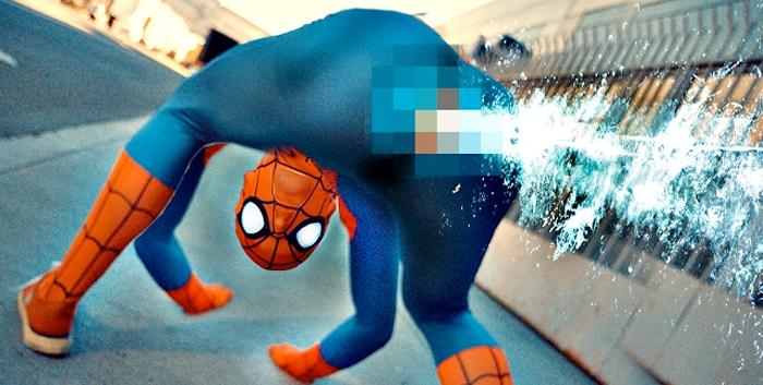 Anatomically Correct Spider-Man