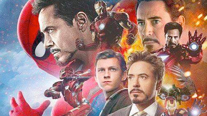 Spider-Man - Iron Man Poster