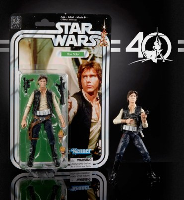 Star Wars 40th Anniversary Black Series Figures