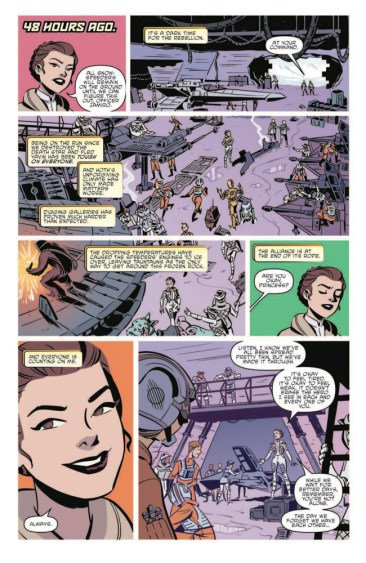 Star Wars Forces of Destiny - Leia Comic