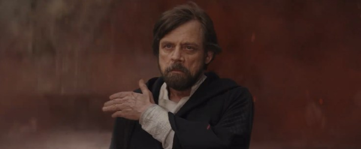 Star Wars The Last Jedi - Mark Hamill as Luke Skywalker