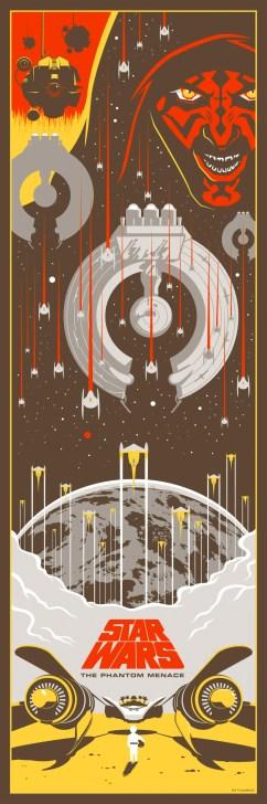 Eric Tan Star Wars Prequel Prints - The Phantom Menace