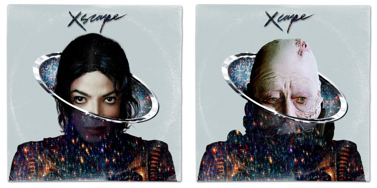 Star Wars vinyl mash-up albums - Michael Jackson