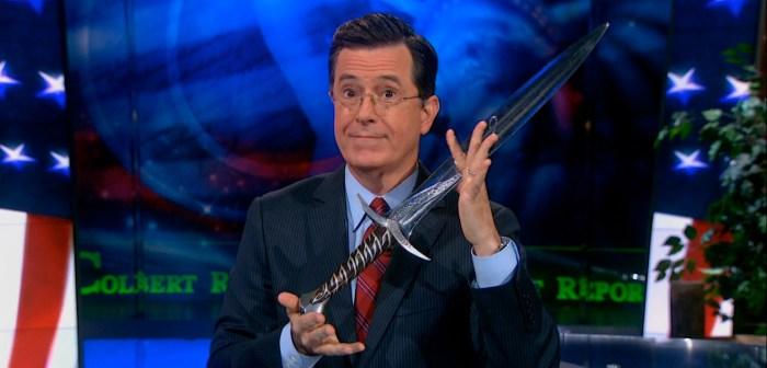 Stephen Colbert Tolkien Trivia Challenge