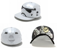 New Era Japan's 59Fifty fitted Star Wars Caps - Stormtrooper