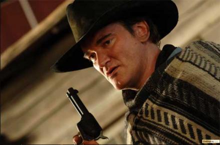Quentin Tarantino in Takashi Miike's Sukiyaki Western Django