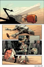 the force awakens comic preview 2