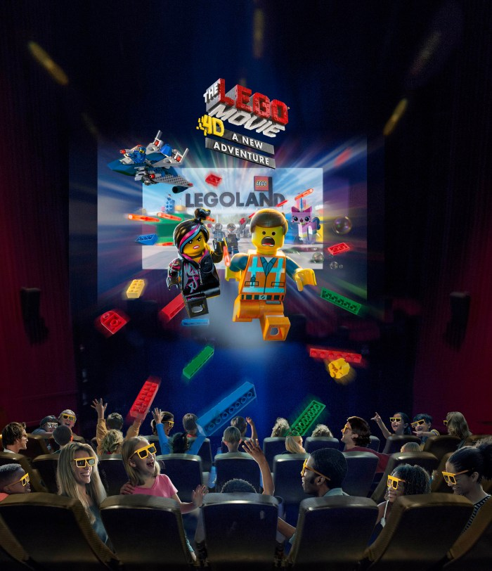 the lego movie 4d poster