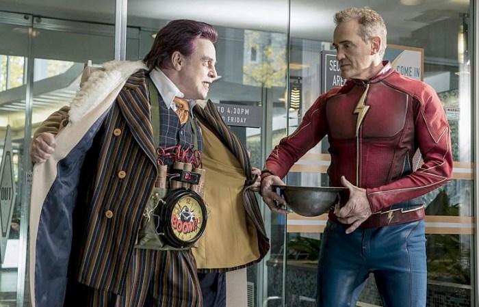 The Flash - Mark Hamill and Jay Garrick