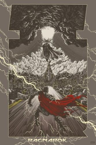 Thor Ragnarok Art Show