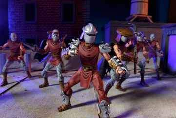Teenage Mutant Ninja Turtles - Shredder and Foot Clan Action Figures