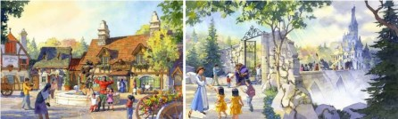 tokyo disneyland beauty and the beast 2