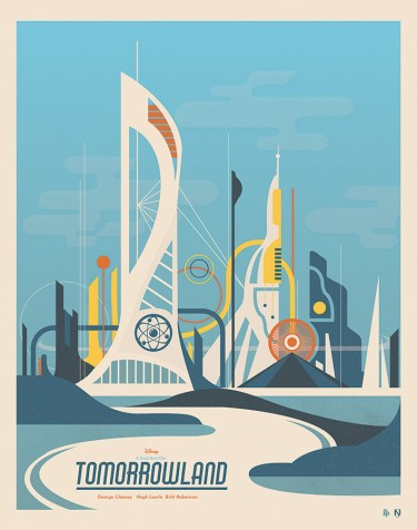 Tomorrowland - Poster Posse 1