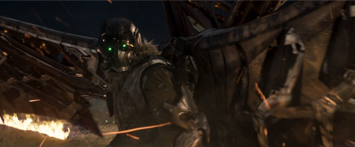the vulture in spider-man: homecoming