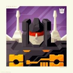 Tom Whalen Transformers Prints