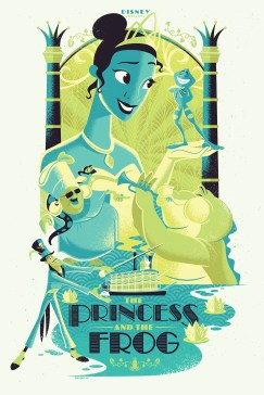 The Princess and the Frog by Josh Holtsclaw variant edition