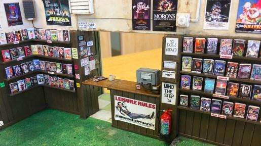 Miniature Video Store Replica