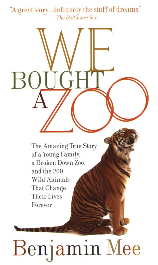 we bought a zoo book cover