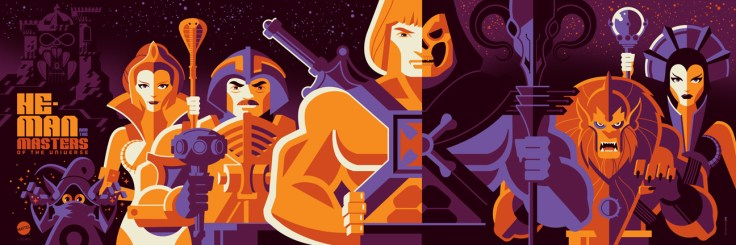 Tom Whalen's Masters of the Universe