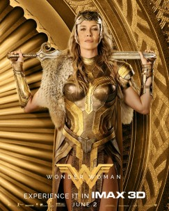 Wonder Woman IMAX Poster - Hippolyta