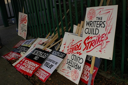 Writers Strike Video: Who's On The Line
