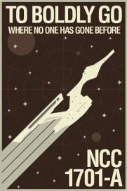 Brandon Schaefer's Star Trek Movie Poster