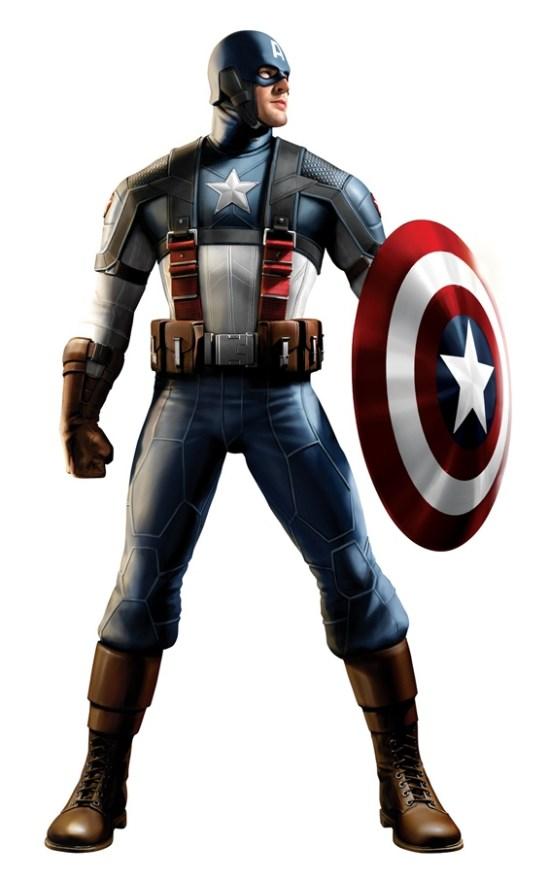 Captain America Concept Image