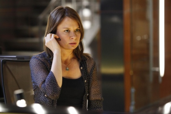 Mary Lynn Rajskub as Chloe O'Brian in 24 season 8