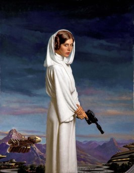 Star Wars: Visions -- Princess Leia by Daniel E. Greene
