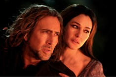 Nicolas Cage and Monica Bellucci in THE SORCERER'S APPRENTICE